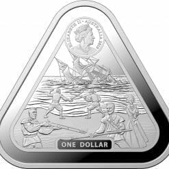 2019 Batavia 1oz Silver Bullion Coin 3