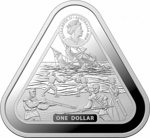 2019 Batavia 1oz Silver Bullion Coin 2