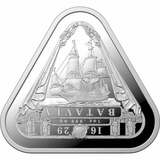 2019 Batavia 1oz Silver Bullion Coin 1