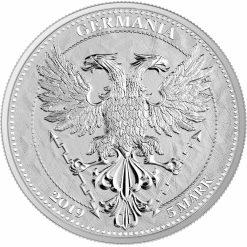 2019 Oak Leaf 1oz .9999 Silver Bullion Coin 4