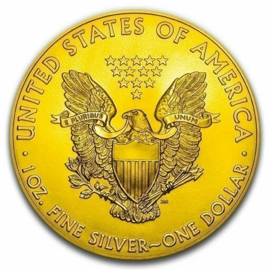 2019 Donald Trump Peace Sign - American Silver Eagle 1oz Silver Coin 2