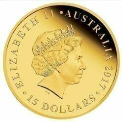 2017 Australia Half Sovereign Gold Proof Coin 8