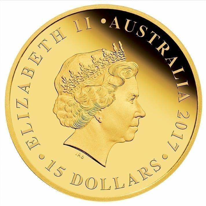 2017 Australia Half Sovereign Gold Proof Coin 3