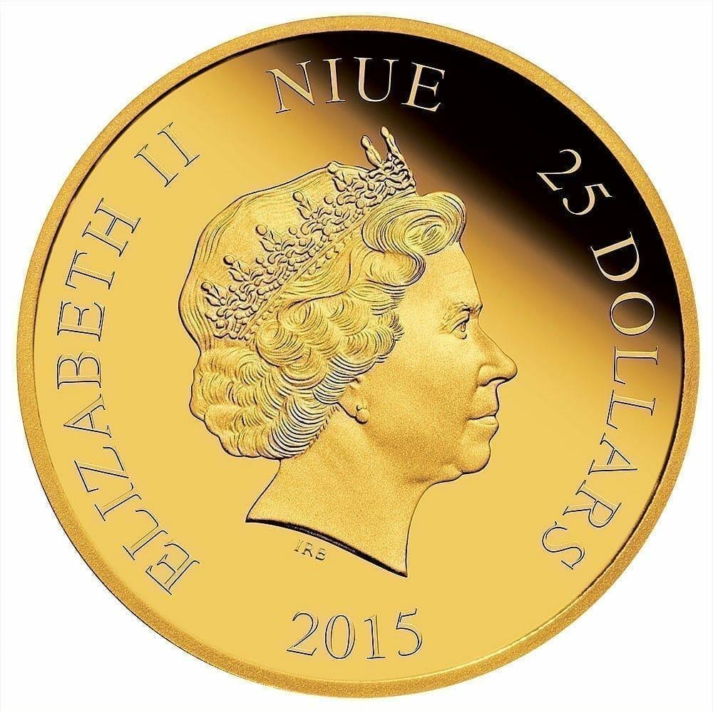 2015 Disney Daisy Duck 75th Anniversary 1/4oz .9999 Gold Proof Coin 3