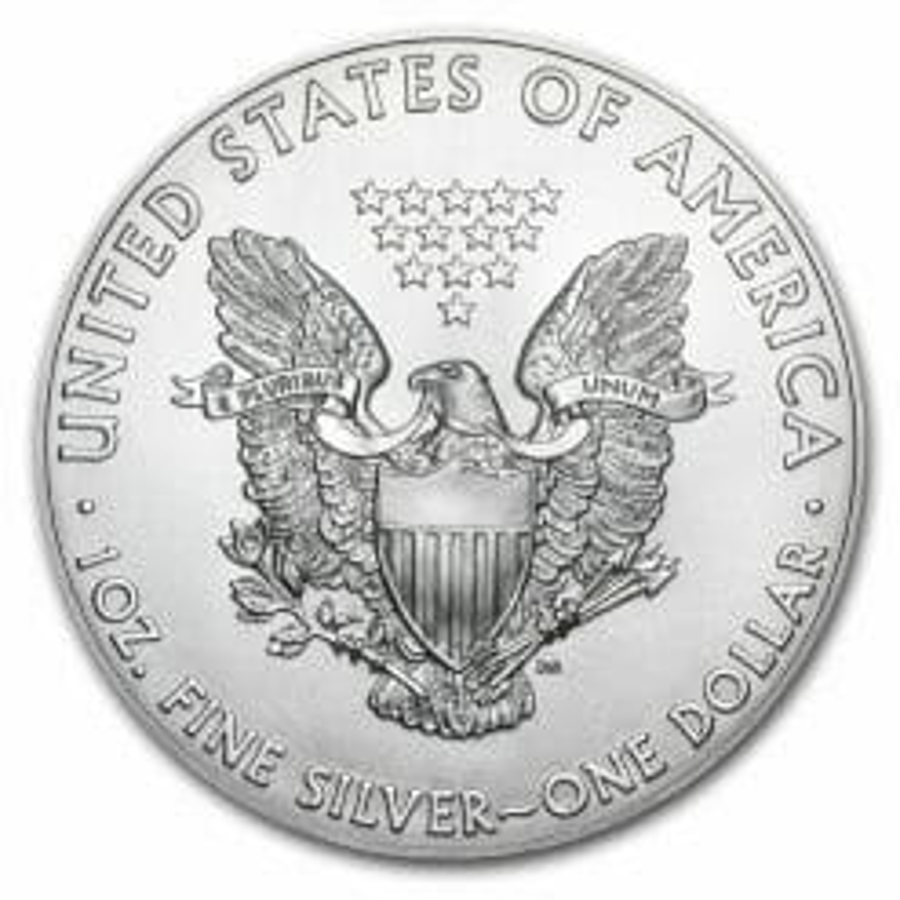 2019 Da Vinci Vitruvian Man - American Eagle 1oz Silver Coin 5