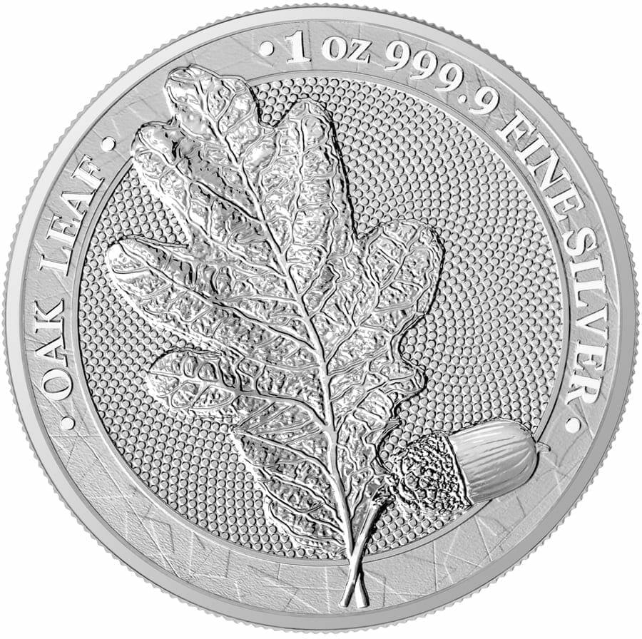 2019 Oak Leaf 1oz .9999 Silver Bullion Coin 1