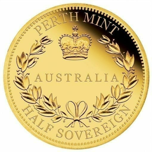 2017 Australia Half Sovereign Gold Proof Coin 1