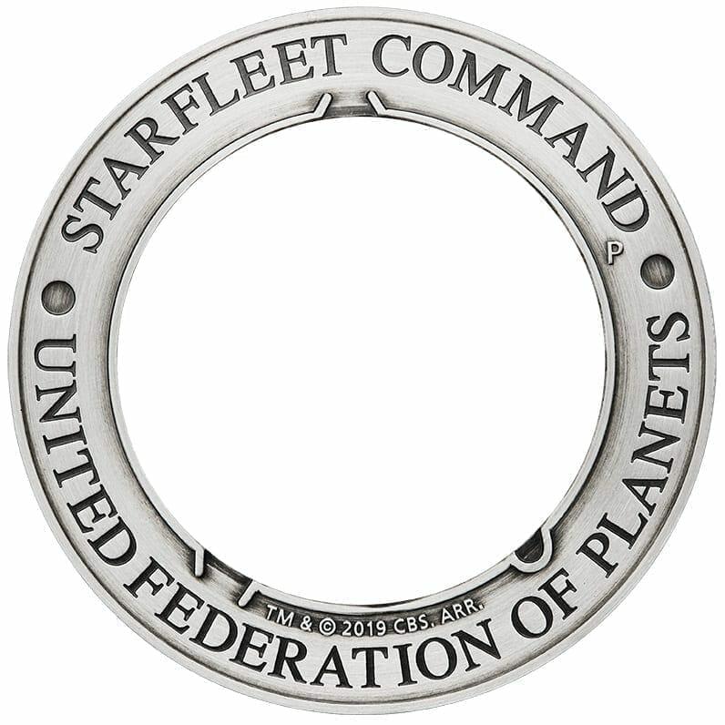 2019 Starfleet Command Emblem 3oz Silver Holey Dollar & Delta Coin Set 5
