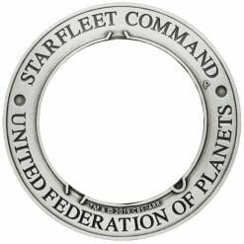 2019 Starfleet Command Emblem 3oz Silver Holey Dollar & Delta Coin Set 12