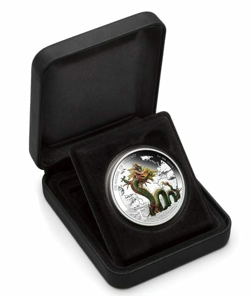 2012 Dragons of Legend - Chinese Dragon 1oz Silver Proof Coin 3