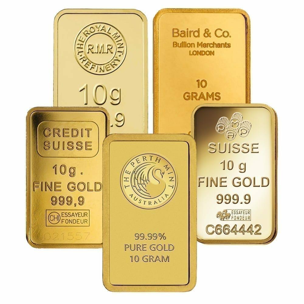 Low Premium 10g Gold Bullion 1