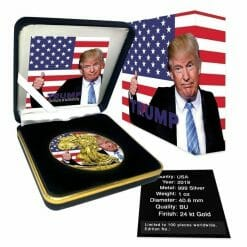 2019 Donald Trump Thumbs Up - American Eagle 1oz Silver Coin 5