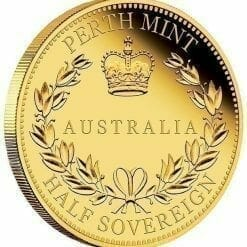 2017 Australia Half Sovereign Gold Proof Coin 7