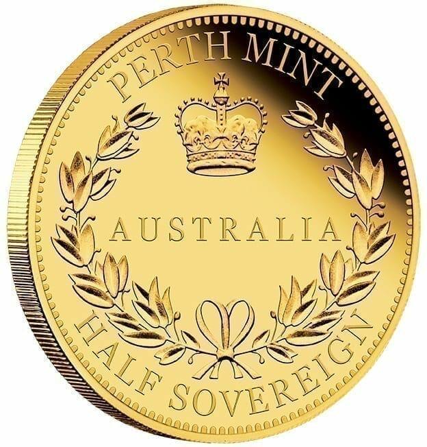 2017 Australia Half Sovereign Gold Proof Coin 7