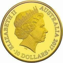 2017 Centenary of the Trans-Australian Railway 1/10oz Gold Proof Coin 4