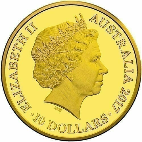 2017 Centenary of the Trans-Australian Railway 1/10oz Gold Proof Coin 2