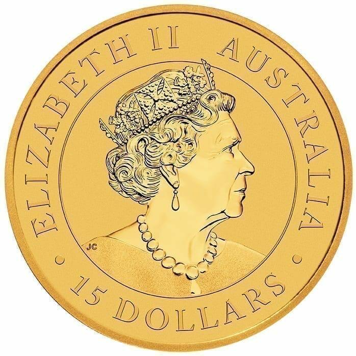 2020 Australian Kangaroo 1/10oz .9999 Gold Bullion Coin 5
