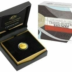 2017 Centenary of the Trans-Australian Railway 1/10oz Gold Proof Coin 5