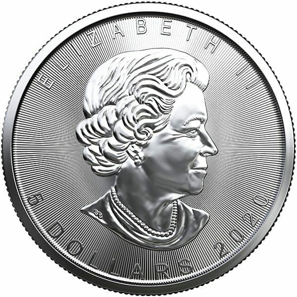 2020 Maple Leaf 1oz .9999 Silver Bullion Coin 3