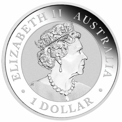 2020 Australian Wedge-Tailed Eagle 1oz .9999 Silver Bullion Coin 3