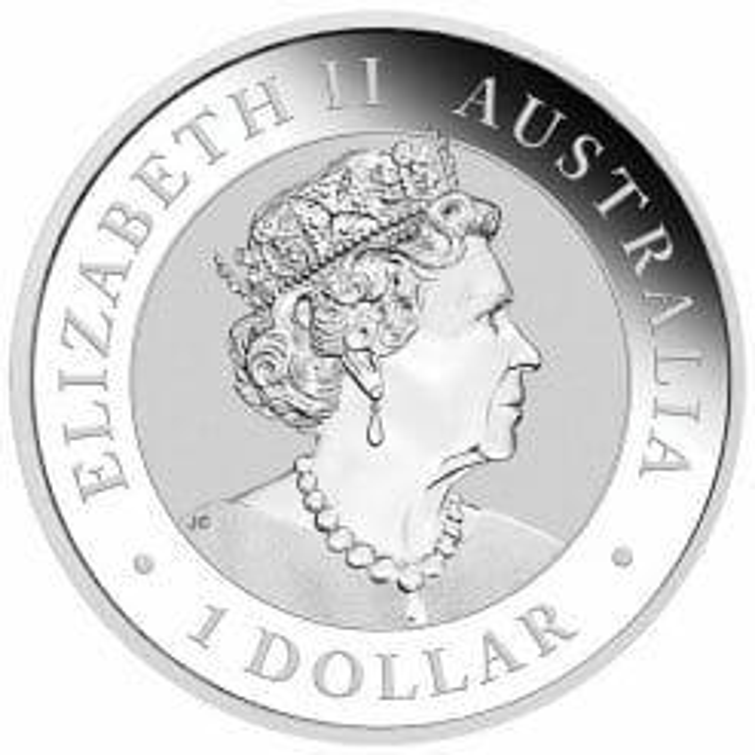 2020 Australian Wedge-Tailed Eagle 1oz .9999 Silver Bullion Coin 5
