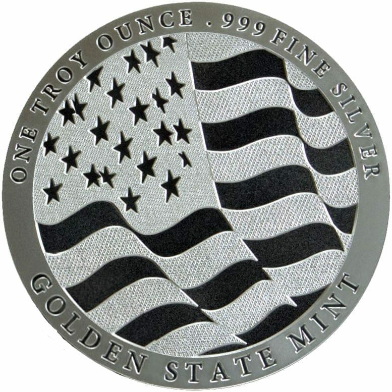 GSM Silver Eagle 1oz .999 Silver Bullion Round 2