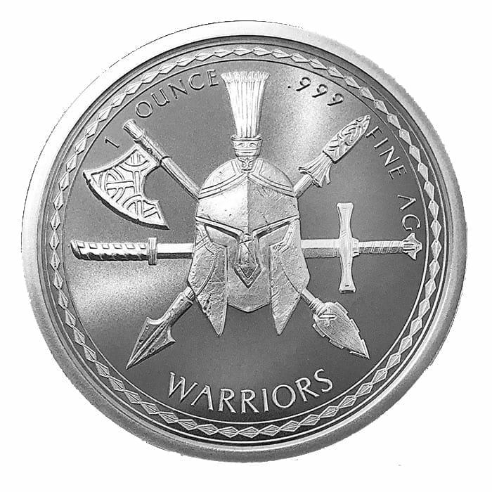 Spartan Warrior 1oz .999 Silver Round - Warrior Series 2
