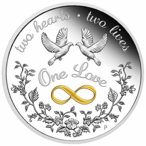2020 One Love 1oz .9999 Silver Proof Coin 1