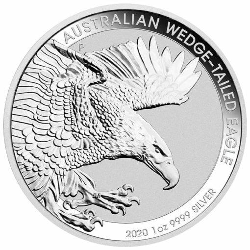 2020 Australian Wedge-Tailed Eagle 1oz .9999 Silver Bullion Coin 1