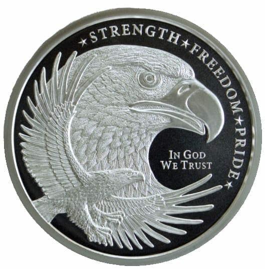 GSM Silver Eagle 1oz .999 Silver Bullion Round 1