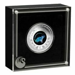 2020 Opal Year of the Mouse 1oz .9999 Silver Proof Coin 8