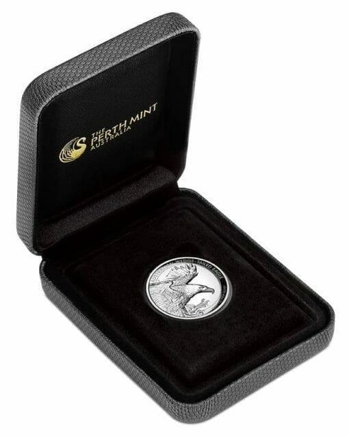 2020 Australian Wedge-Tailed Eagle 1oz .9999 Silver Proof High Relief Coin 4
