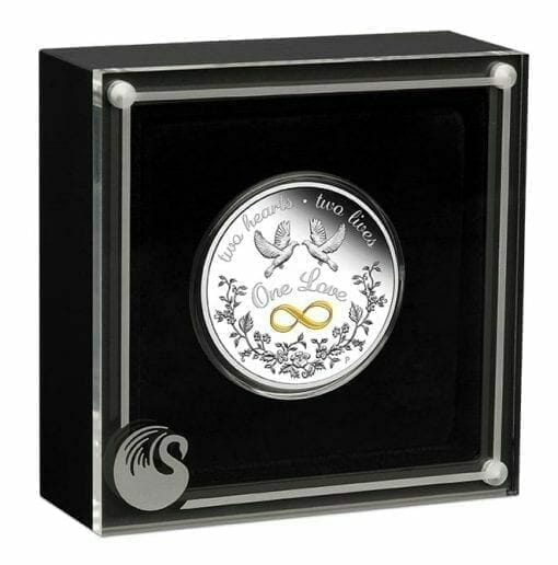 2020 One Love 1oz .9999 Silver Proof Coin 4