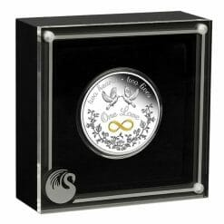 2020 One Love 1oz .9999 Silver Proof Coin 8