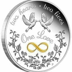 2020 One Love 1oz .9999 Silver Proof Coin 6