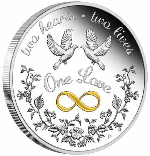 2020 One Love 1oz .9999 Silver Proof Coin 2