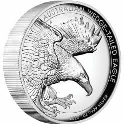 2020 Australian Wedge-Tailed Eagle 1oz .9999 Silver Proof High Relief Coin 6