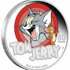 2020 Tom & Jerry 80th Anniversary 1oz .9999 Silver Proof Coin 6