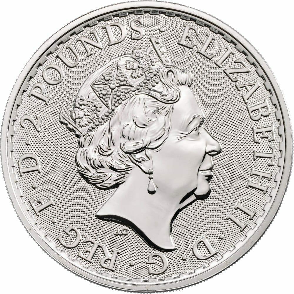 2020 The Royal Arms 1oz .999 Silver Bullion Coin 2