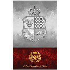 2019 The Allegories - Columbia & Germania 1oz .9999 Silver Coin - World Money Fair Exclusive 4