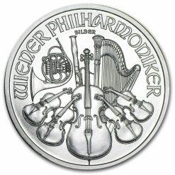 2011 Austrian Philharmonic 1oz .999 Silver Bullion Coin 3