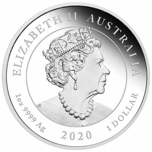 2020 Voyage of Discovery - Endeavour 1770-2020 1oz .9999 Silver Proof Coin 3