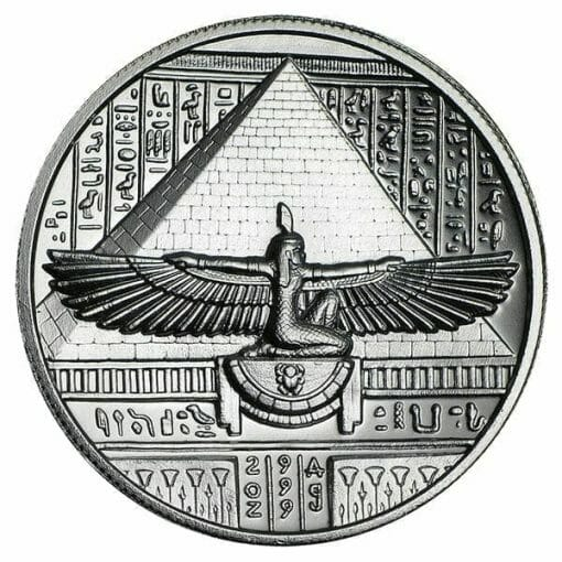 Cleopatra 2oz .999 Silver Ultra High Relief Round 2
