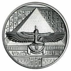 Cleopatra 2oz .999 Silver Ultra High Relief Round 3