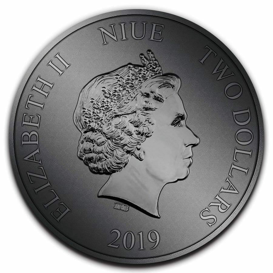 2019 Star Wars Clone Trooper 1oz .999 Coloured Silver Coin 2