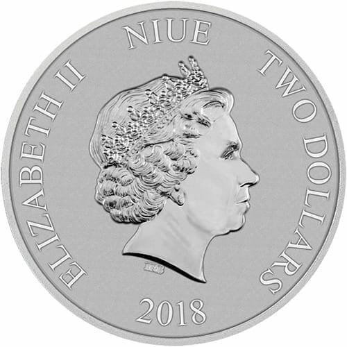 2018 Star Wars - Darth Vader 1oz .999 Silver Bullion Coin 5