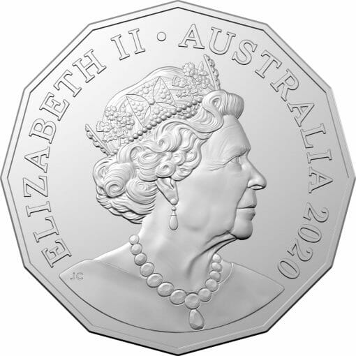 2020 50th Anniversary of the Indian Pacific - 50c Coloured Uncirculated Coin 3