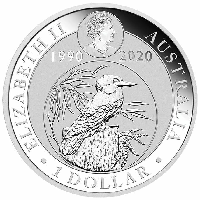 2020 Kookaburra Coloured 1oz .9999 Silver Coin - World Money Fair / Berlin Coin Show 3
