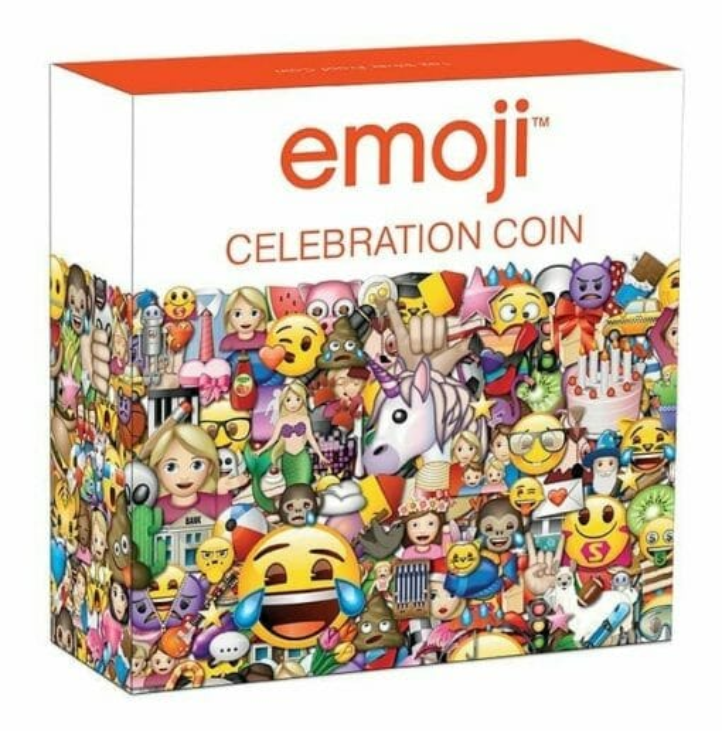 2020 emoji ™ Celebration 1oz .9999 Silver Proof Coin 5