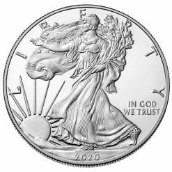 2020 American Silver Eagle 1oz .999 Silver Bullion Coin ASE (500oz Monsterbox) 5